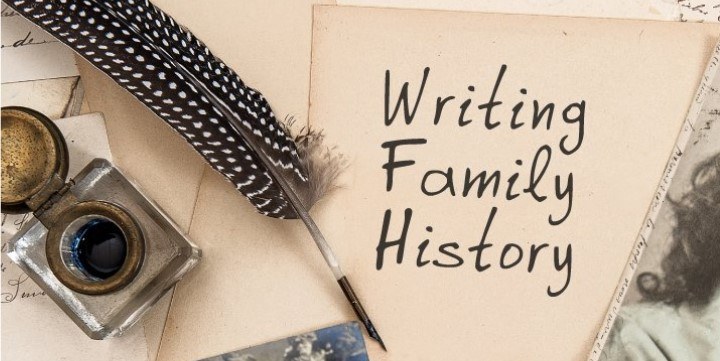 Family History Writing Image