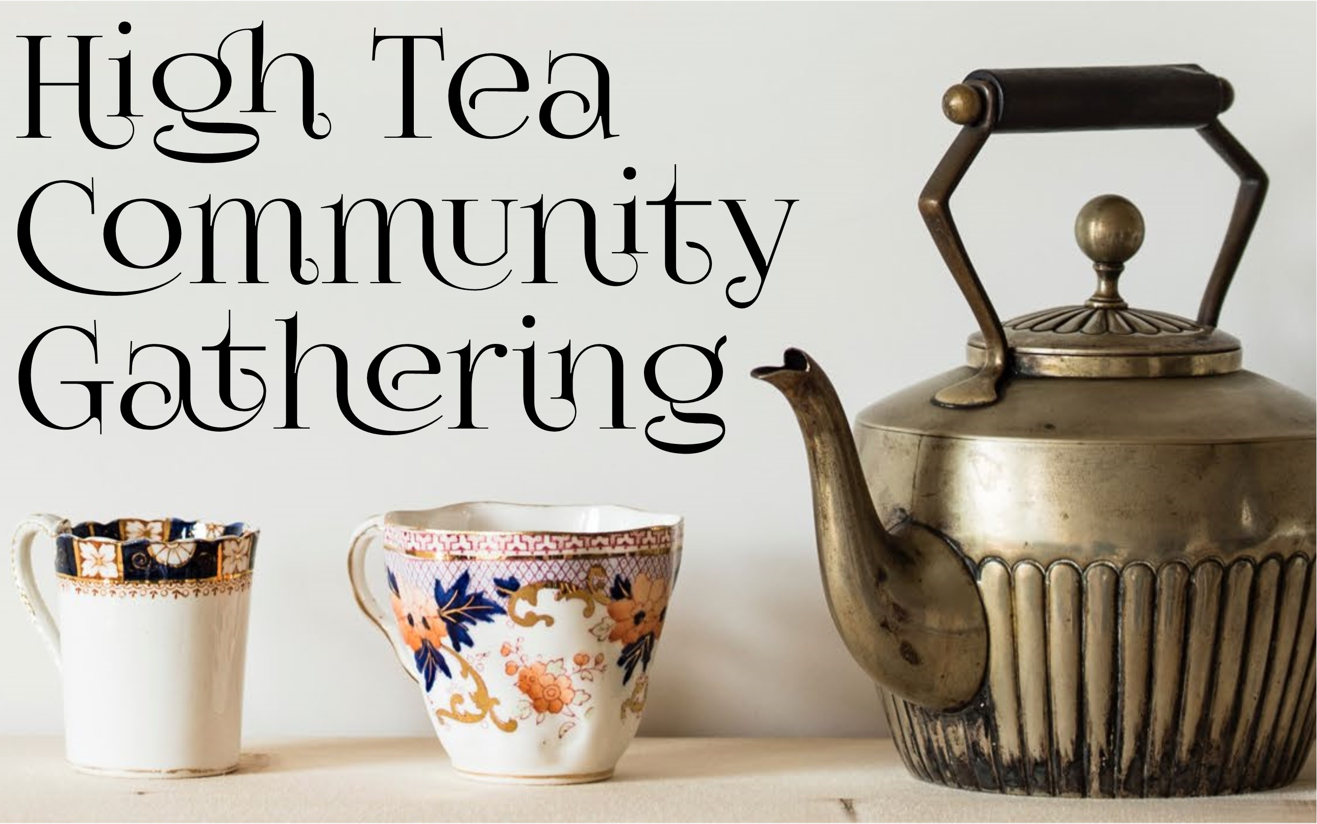 High Tea Community Gathering Image