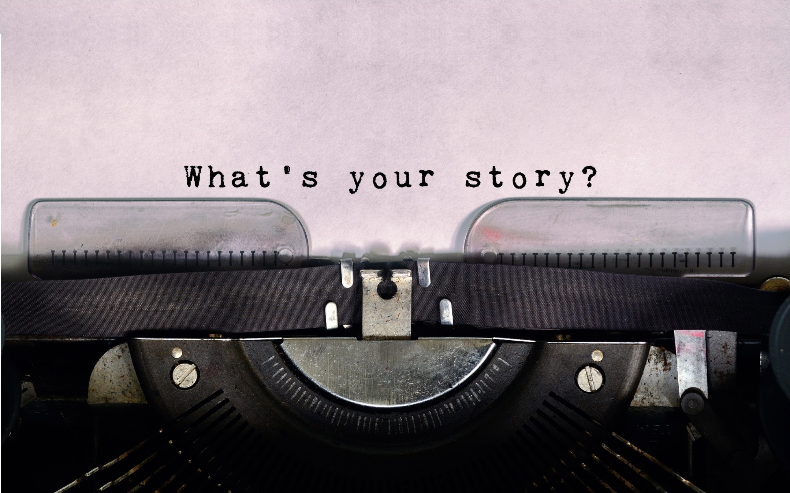 Personal Stories website image