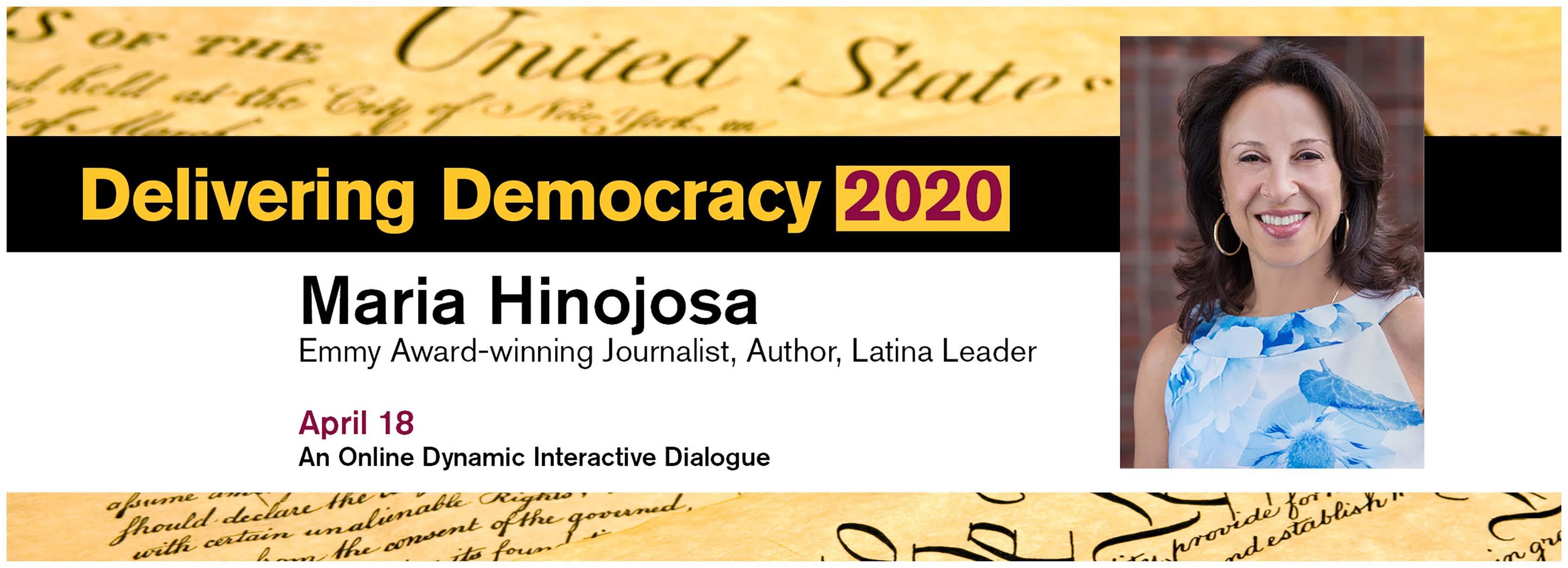 Maria Hinojosa Emmy Award winning Journalist, Author, Latina Leader
