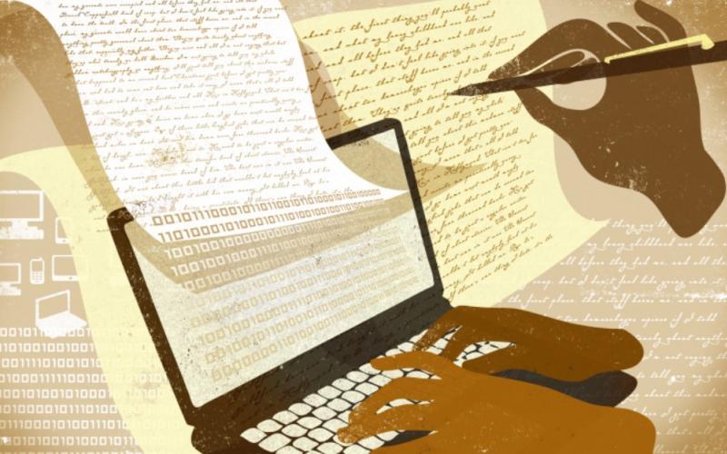 Digital Writing Image