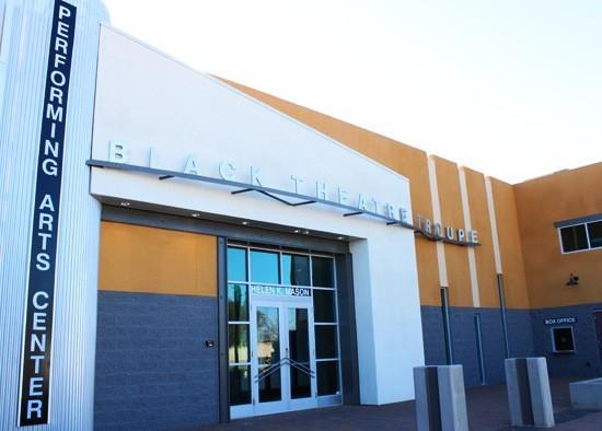 Black Theatre Troupe Front Entrance