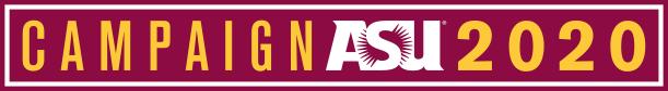 Campaign ASU 2020, logo give