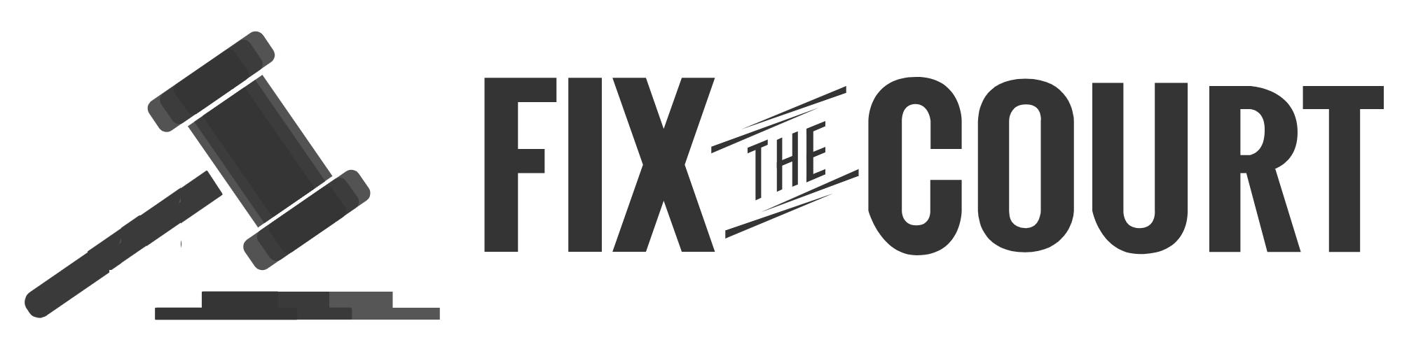 Fix the Court logo