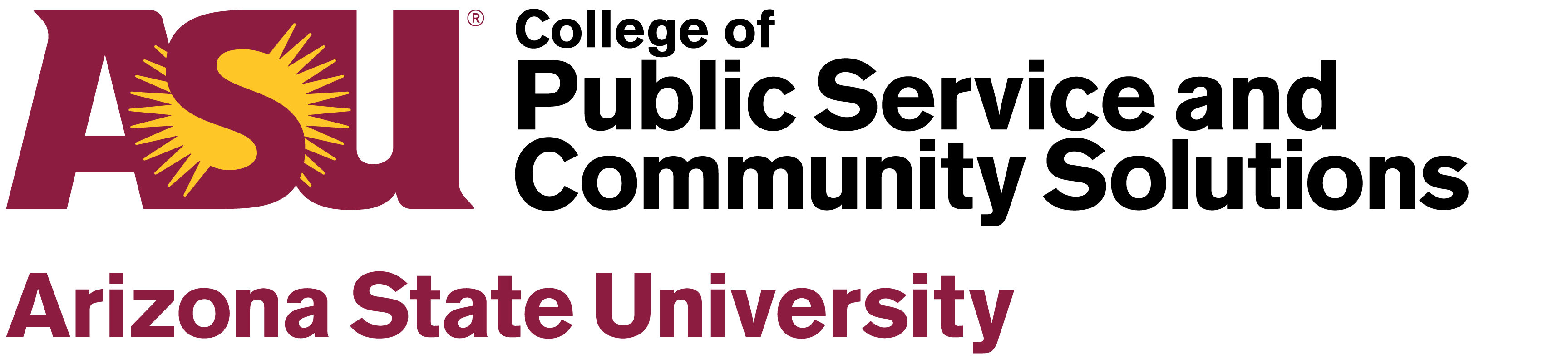 ASU College of Public Service and Community Solutions logo