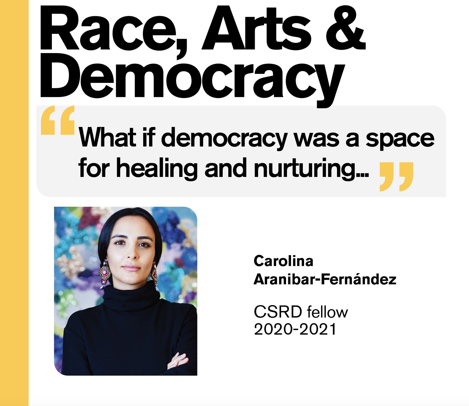Race Arts Democracy Carolina