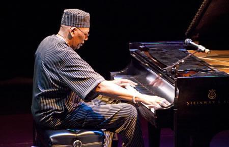 Randy Weston at the Piano