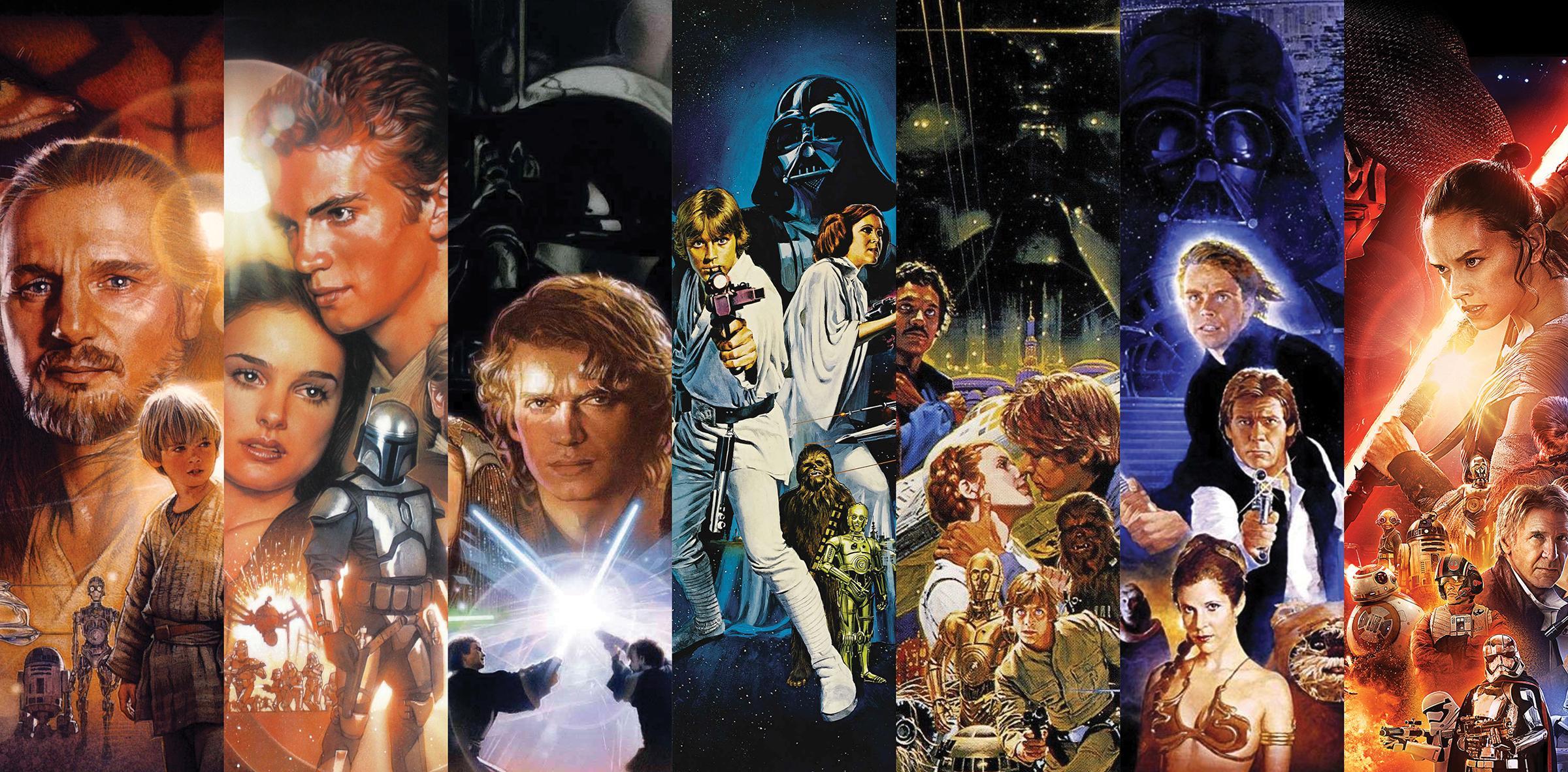 Star Wars Movie Poster Art